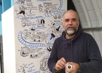 Presentación Jorge Martín, Ilustrador, Agés (El Hueco Verde)
