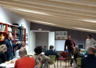 Formación con emprendedor@s de la Sierra de la Demanda (El Hueco Verde)