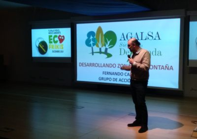 Presentación en Ecofrikis, Agalsa. (F. Oxígeno)