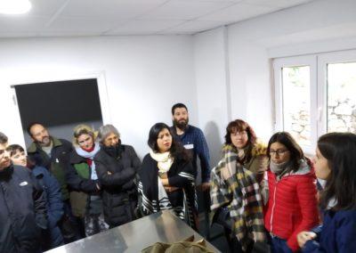 Visita de futuros emprendedor@s. Lacteos Valparaiso. Villaspasa (F. Oxígeno)
