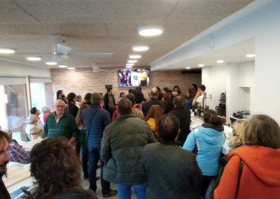 Visita de futuros emprendedor@s. Bar de Campolara (F. Oxígeno)