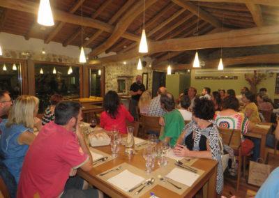 Visita de futuros emprendedor@s. Restaurante Comosapiens. Atapuerca (F. Oxigeno)