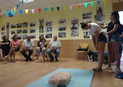 Curso de Primeros Auxilios en Huerta (Agalsa)