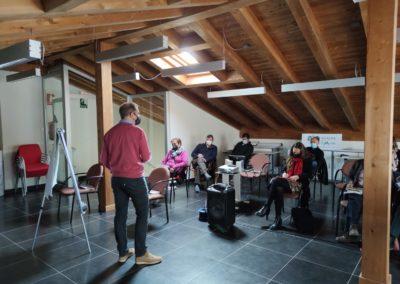 Taller de voluntariado coworking rural